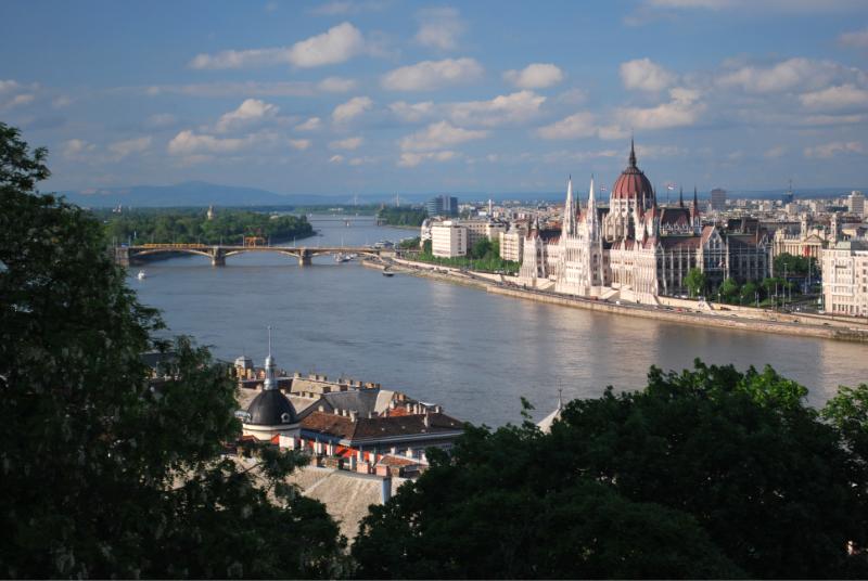 Il parlamento di Budapest