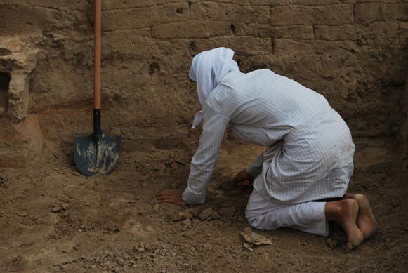 Gli scavi di Mari