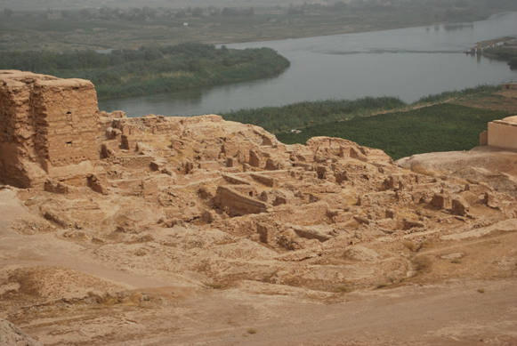 Vista dell'Eufrate da Doura Europos