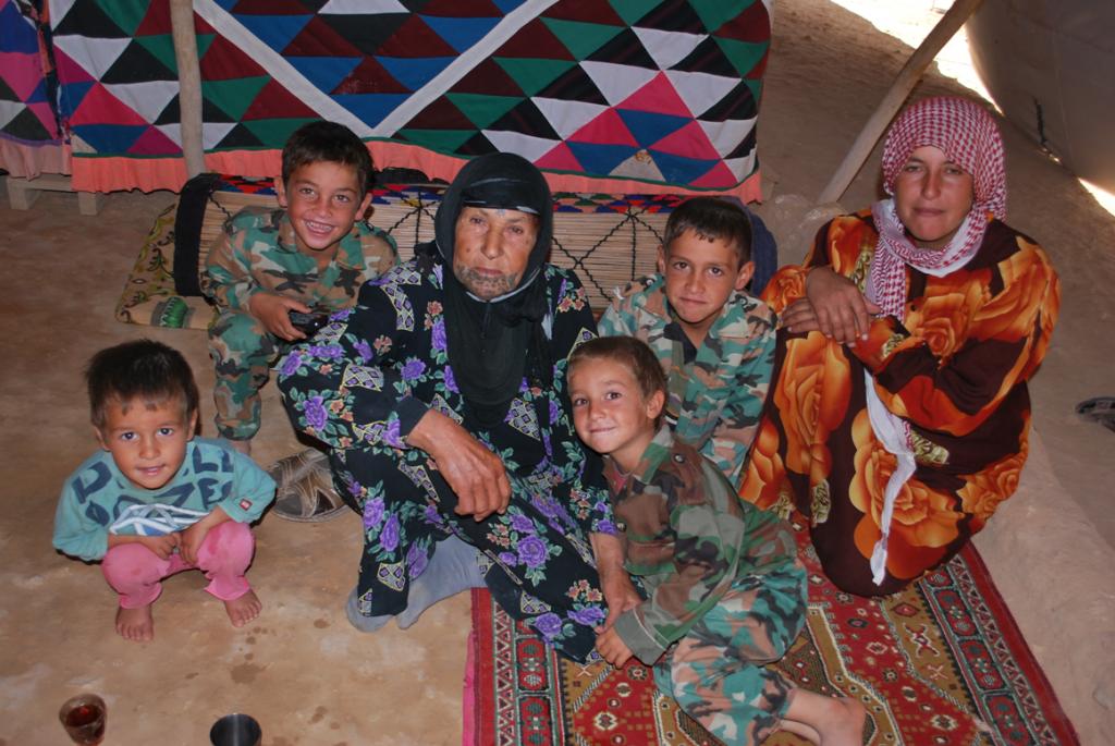 Famiglia beduini