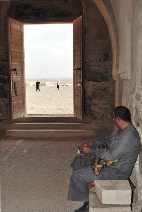 Custode Qasr Kharaneh, Giordania