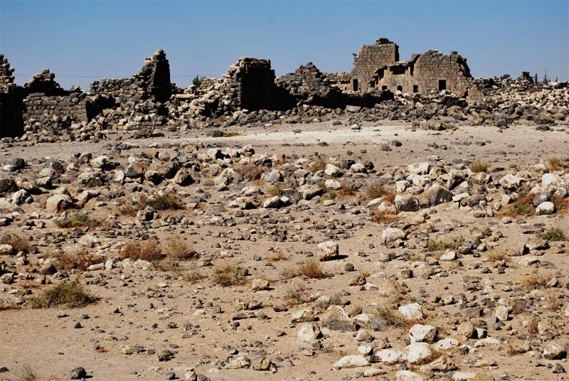 Umm el-Jimal, rovine