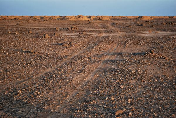 le strade del deserto