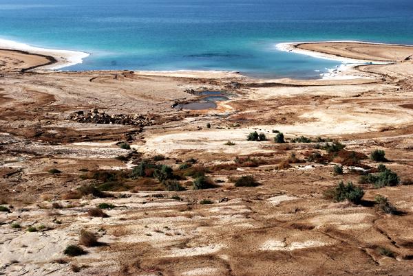 Insenatura sul Mar Morto
