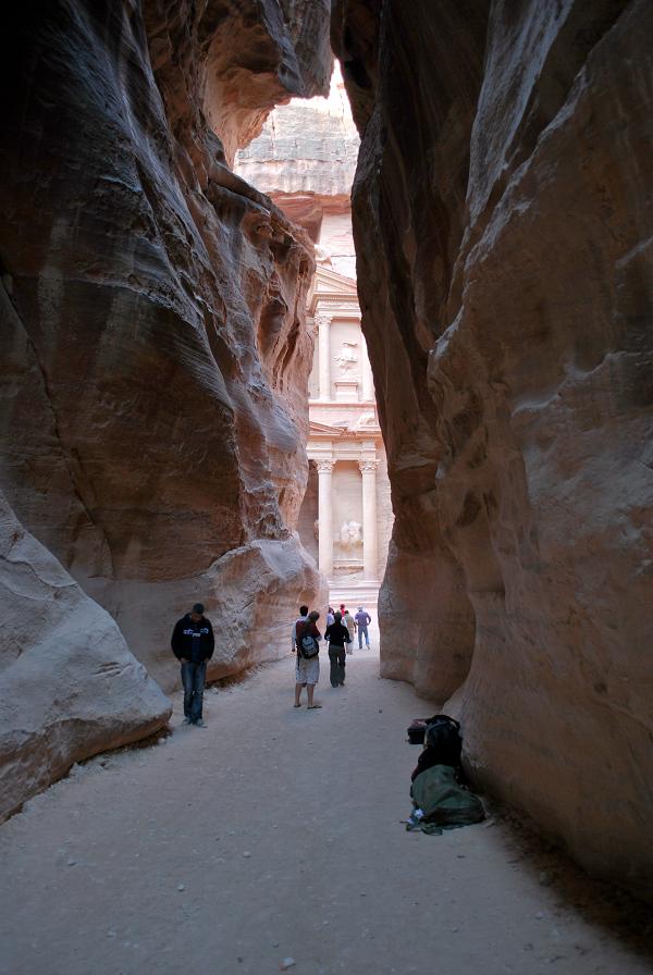 Petra, alla fine del siq