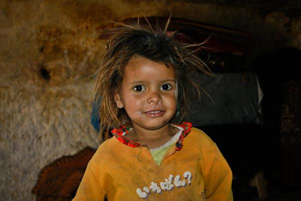 Petra, bambina beduina
