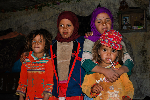Petra, bambine beduine