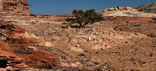 Petra, cimitero musulmano