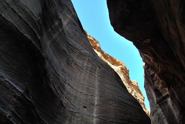 Petra, dentro al siq