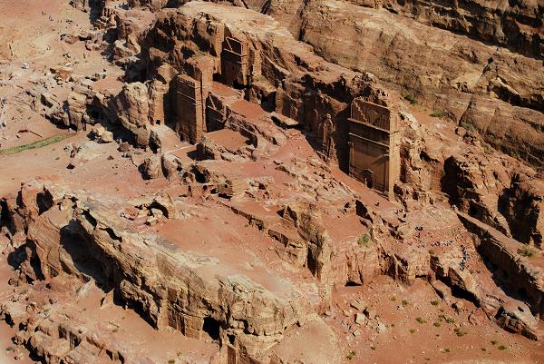 Petra, edifici scolpiti