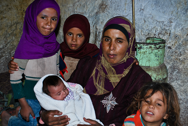 Petra, famiglia beduina